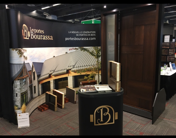 Bourassa Doors present at The Buildings Show
