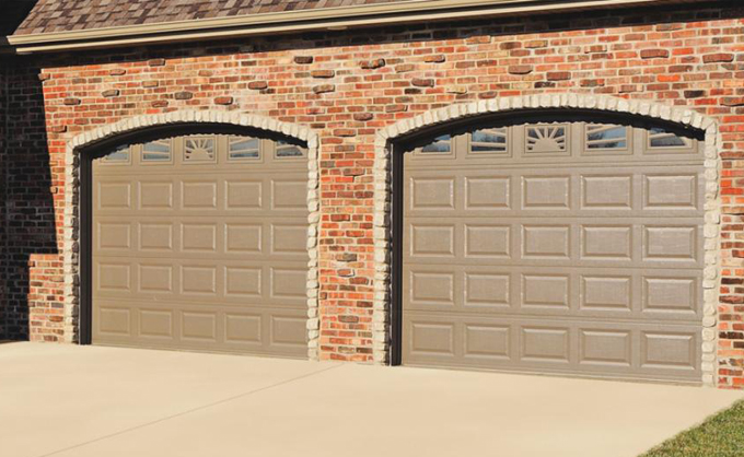 Garage doors in steel C.H.I.