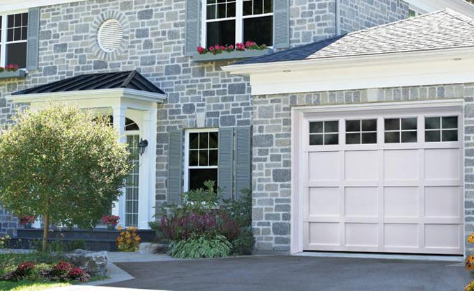 Porte De Garage En Acier Garaga Traditionnel Portes