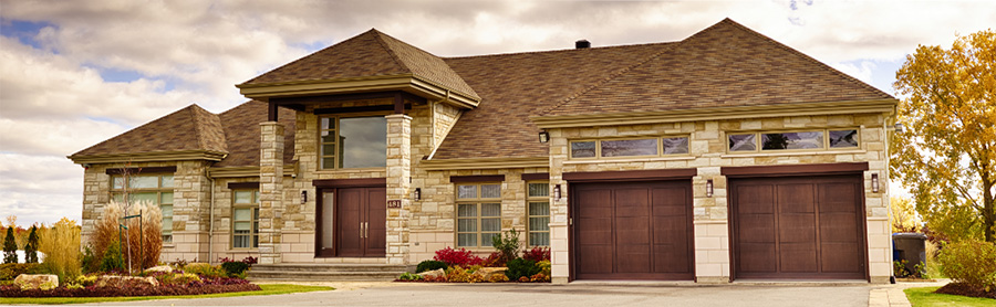 Wooden front & garage doors